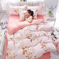 御目 三件套 纯棉学生宿舍1.2米床三件套0.9m寝室单人儿童床品上下铺床单被套枕套床上用品