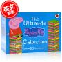 现货 小猪佩奇儿童绘本50本合集 英文原版 粉红猪小妹 礼盒装 The Ultimate Peppa Pig Collection 50 Books Set