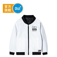 【1件25折到手价:84.75】361度童装 男童休闲外套夹克棒球服上衣2021年春季开衫外套K51913672