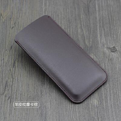 苹果8 7 6s手机套iPhone6/6splus直插皮套7plus保护套皮包4.7 5.5 5.5寸 摩卡棕 加大版