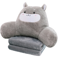 汽车腰靠办公室护腰靠垫靠枕床头靠背飘窗腰枕抱枕可爱可拆洗