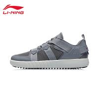 李宁溯溪鞋男鞋2021春季新款男士鞋子低帮运动鞋AHLR005