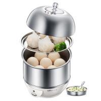 双层煮蛋器蒸蛋器早餐机不锈钢多功能自动断电迷你