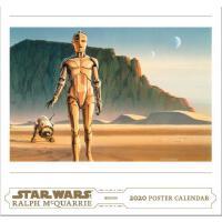 【现货】英文原版 星球大战艺术海报2020年挂历 超大开本 限量收藏版日历 Star Wars Art: Ralph M