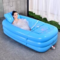 汉蒸器家用折叠式蒸汽桑拿浴箱家用熏蒸机加厚充气浴缸泡澡汉蒸两用汗蒸