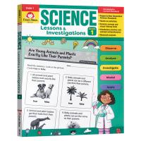 英文原版 Science Lessons and Investigations Grade 1 TE 科学研究探索系列练
