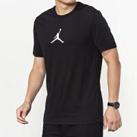 NIKE耐克 男装 运动休闲训练短袖篮球T恤 BQ6741-010