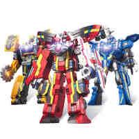 动漫款巨神战击队3冲锋爆裂战击王豪华版变形机器人玩具