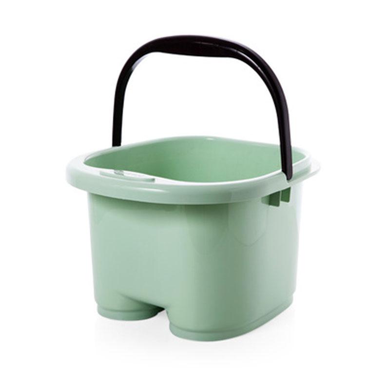 厚泡脚足浴盆按摩泡脚桶家用塑料泡脚盆洗脚盆高洗脚足浴桶