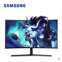 【支持礼品卡支付】三星C24F396FH曲面显示器23.5英寸护眼高清HDMI电脑屏幕可挂壁