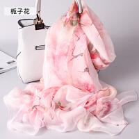 杭州丝绸春秋季丝巾女围巾秋冬季长款披肩
