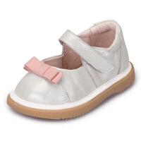 新款宝宝鞋春秋学步鞋公主鞋软底婴儿叫叫鞋0-1-2-3岁