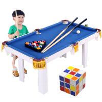 儿童台球桌家用可折叠大号美式花式玩具迷你黑8室内玩具台球桌