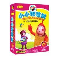 5-6岁小小智慧树DVD启蒙动画卡通碟片幼儿童早教高清DVD光盘碟片