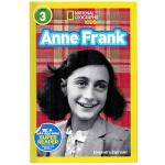 英文原版绘本 National Geographic Kids Level3:Anne Frank 国家地理分级阅读初