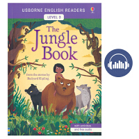 Usborne English Readers Level 3 The Jungle Book 森林之子 迪士尼奇幻森