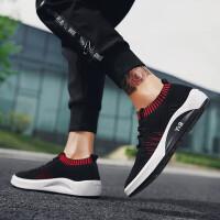 男鞋运动鞋夏季潮鞋男士休闲鞋2019新款韩版学生透气百搭跑步鞋子