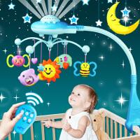 新生婴儿宝宝玩具益智手摇铃女孩床铃儿童男孩