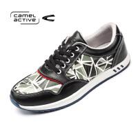 Camel Active/骆驼动感正品冬季复古迷彩运动鞋跑步鞋户外休闲鞋