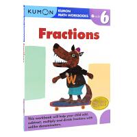 Kumon Math Workbooks Fractions Grade 6 公文式教育 小学六年级分数练习册 儿童教