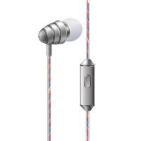 金属耳机手机电脑通用入耳式线控耳机女生手机耳机