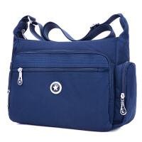 大容量布包女士包包新款斜挎包中年女式运动尼龙帆布单肩