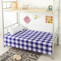 御目 床单 学生单人宿舍床单斜纹加厚双人床单单件大学生寝室上下铺被单1.2米1.5米1.8米满额减限时抢礼品卡床上用品