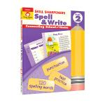 Evan-Moor Skill Sharpeners Spell & Write Grade 2 小学二年级英语拼写练