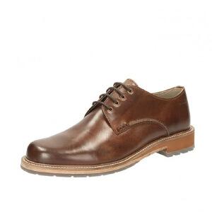 Clarks/其乐男鞋2017秋冬新款商务休闲系带皮鞋Arton Walk专柜正品直邮