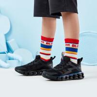 【折后叠券预估价:89】361度童鞋 男童跑鞋 中大童 2021年夏季新品儿童网面运动鞋N72023566