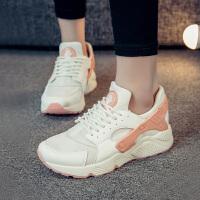 新百伦阿迪 2017春季新款鞋子韩版运动鞋女跑步鞋百搭学生鞋平底新款休闲鞋潮气垫女鞋