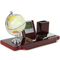 商务礼品笔筒简约台历创意实用办公桌摆件