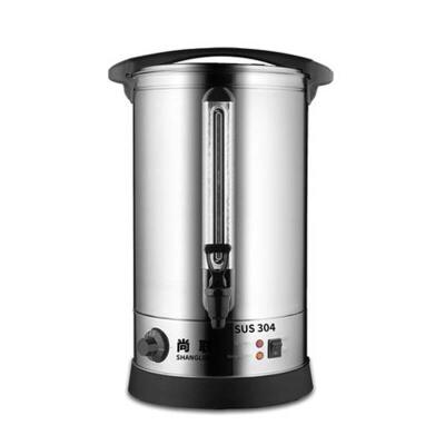 30L商用电热开水桶 304不锈钢奶茶保温桶开水器烧水桶开水机
