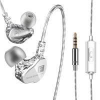 一加云耳机 一加6手机耳机5T入耳式耳塞线控带麦重低音炮全民k歌通用 官方标配