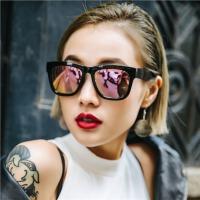 墨镜女潮个性太阳眼镜女圆脸近视太阳镜开车墨镜