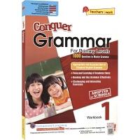 【首页抢券300-100】SAP Conquer Grammar Workbook 1 新加坡教辅 攻克系列小学一年级英