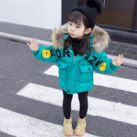女宝宝棉衣儿童棉袄女童洋气外套冬装潮
