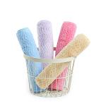 【一件包邮】卡伴婴幼儿毛巾口水巾提花长方巾4条装30*50