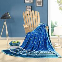进口品质家纺毛毯被子加厚珊瑚绒毯子冬季保暖法兰绒床单学生宿舍绒毯W【】