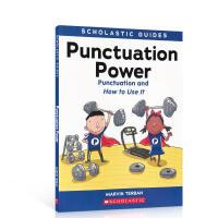 进口英文原版 Scholastic Guide: Punctuation Power 小学英语语法辅导书 提升英语阅读