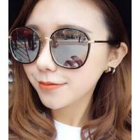 新款防紫外线偏光太阳镜 炫彩反光百搭墨镜大圆框眼镜 支持礼品卡
