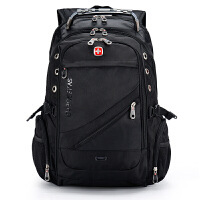 SWISSGEAR双肩电脑包 15.6/17.3寸笔记本包 男女大容量出差旅行背包