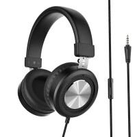 E32 头戴式有线控耳机(重低音手机电脑笔记本 耳麦电竞游戏吃鸡 通用带话筒)