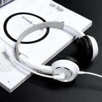 耳机头戴式耳麦手机唱歌录歌电脑服通用话务员客服四六级英语录音