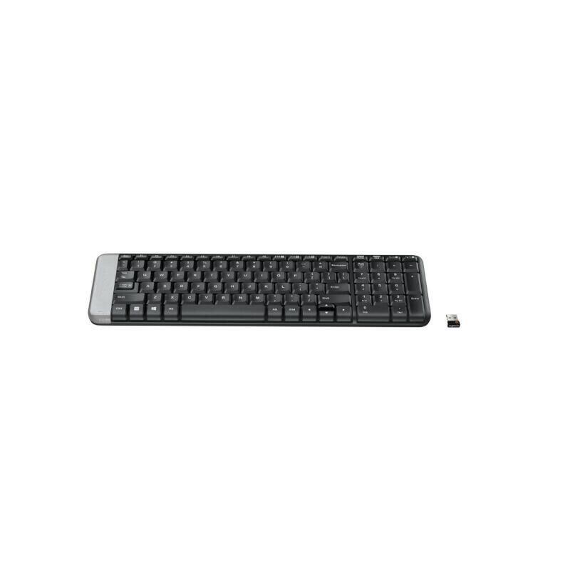 罗技(Logitech)K230 无线键盘紧凑的键盘设计