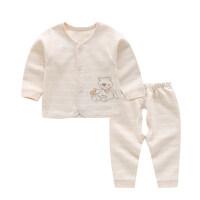 婴儿内衣套装舒绒棉宝宝春装新生儿衣服3-6个月0-1岁儿童装