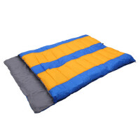双人棉睡袋户外加厚超轻旅行野外露营保暖午休情侣睡袋 支持礼品卡支付
