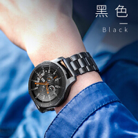 华米手表表带三星Gear S3表带智能手表华为watch2pro/Ticwatch1真皮