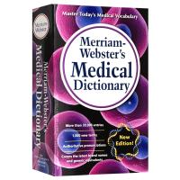 正版现货 韦氏医药词典 英文原版工具书 Merriam Webster Medical Dictionary 韦氏英英词