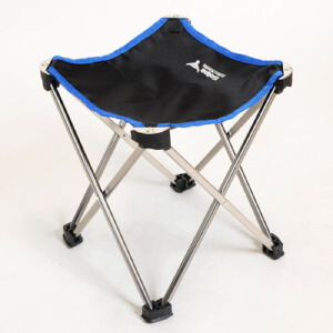 御目 户外家具 简约时尚家用四方全折叠铝合金钓鱼凳便携马扎凳子折叠凳子椅子坐火车神器 创意家具